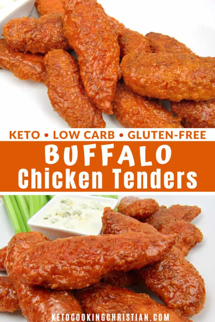 PIN Keto Buffalo Chicken Tenders