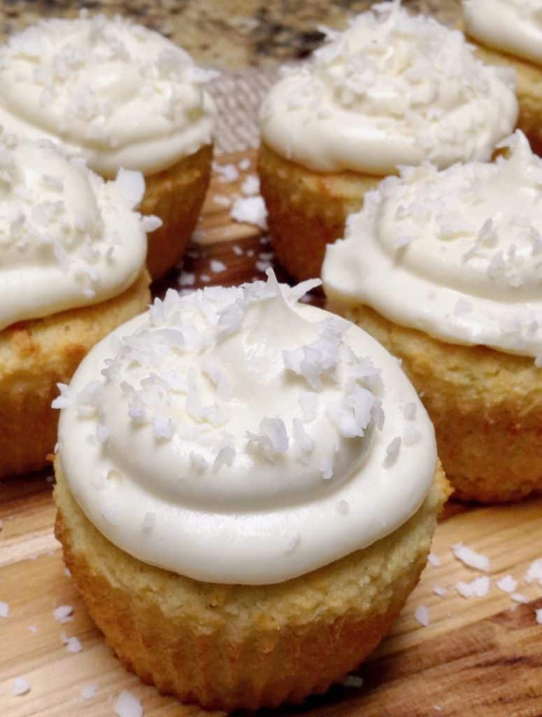 Coconut Cupcakes - Keto, Low Carb & Gluten Free
