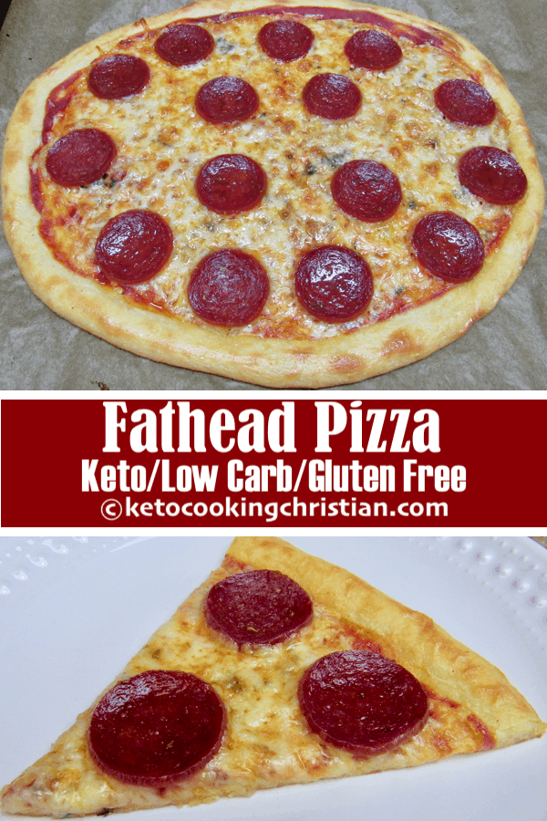 Fathead Pizza - Keto, Low Carb & Gluten Free
