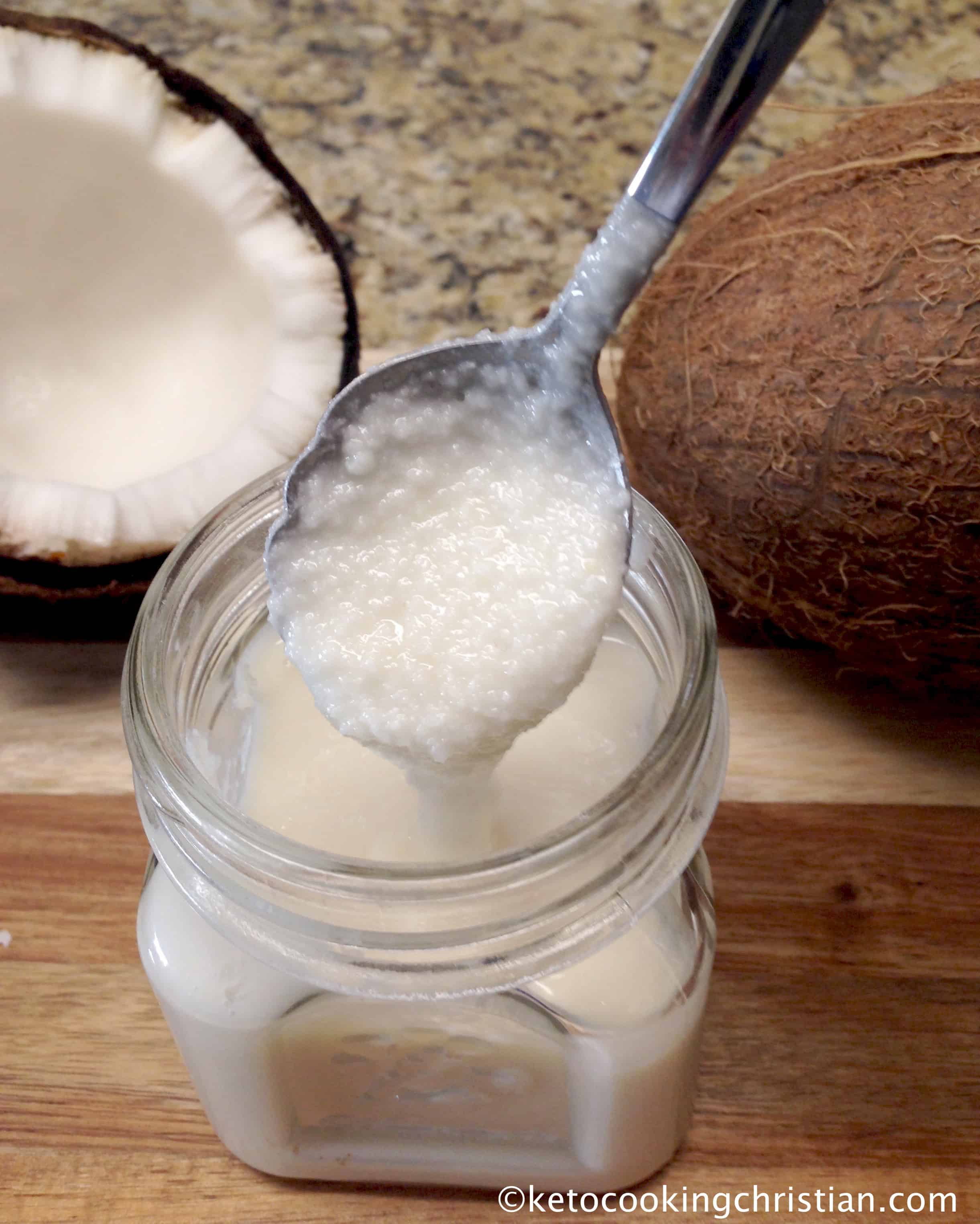 Homemade Coconut Butter - Keto and Low Carb