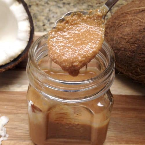Homemade Toasted Coconut Butter - Keto and Low Carb