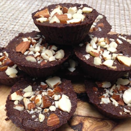 Chocolate Coconut Brownie Bites - Keto, Low Carb & Sugar Free
