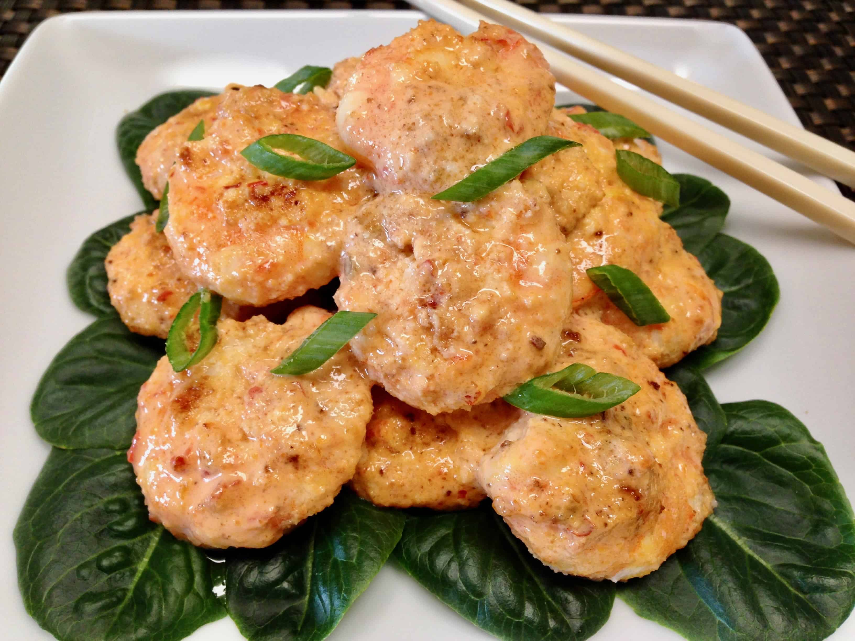 Bang Bang Shrimp - Keto, Low Carb & Gluten Free