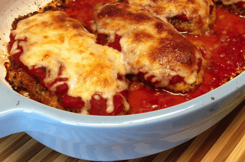 Chicken Parmesan - Keto and Low Carb