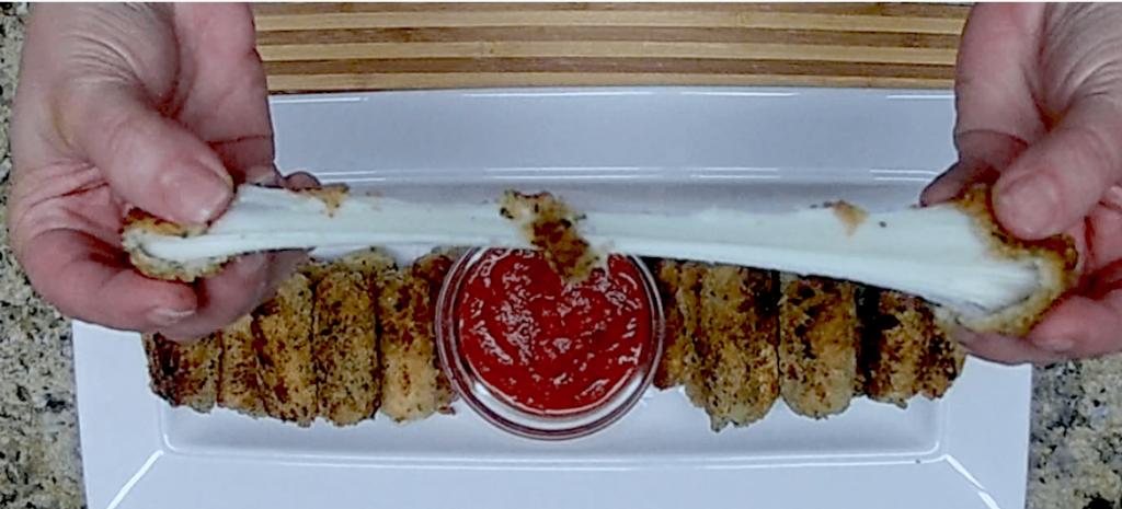 Mozzarella Sticks - Keto, Low Carb & Gluten Free