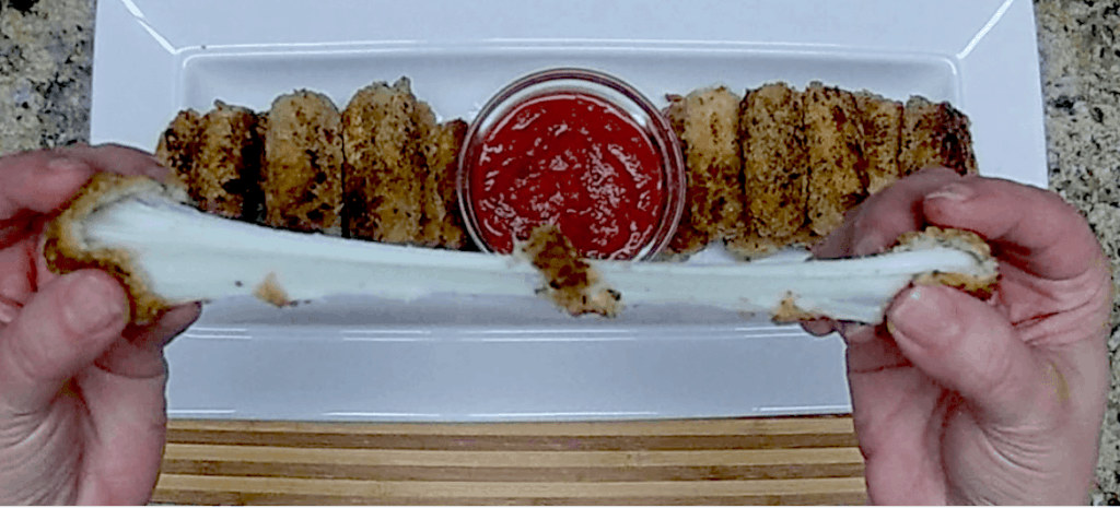 Mozzarella Sticks - Keto, Low Carb & Gluten Free