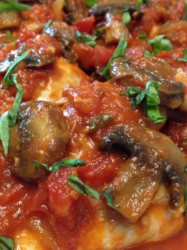 Chicken Cacciatore - Keto and Low Carb