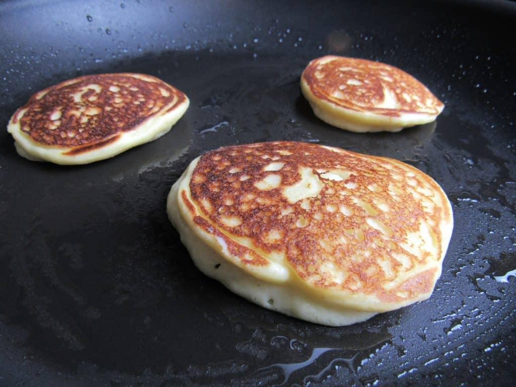 Ricotta Almond Pancakes - Keto, Low Carb & Gluten Free