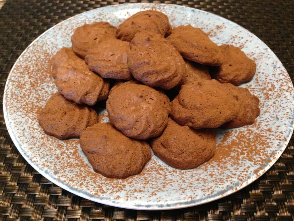 Mocha Meringue Cookies - Keto, Low Carb & Sugar Free