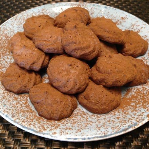 mocha meringue cookies keto low carb