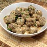 Gravy and Meatballs