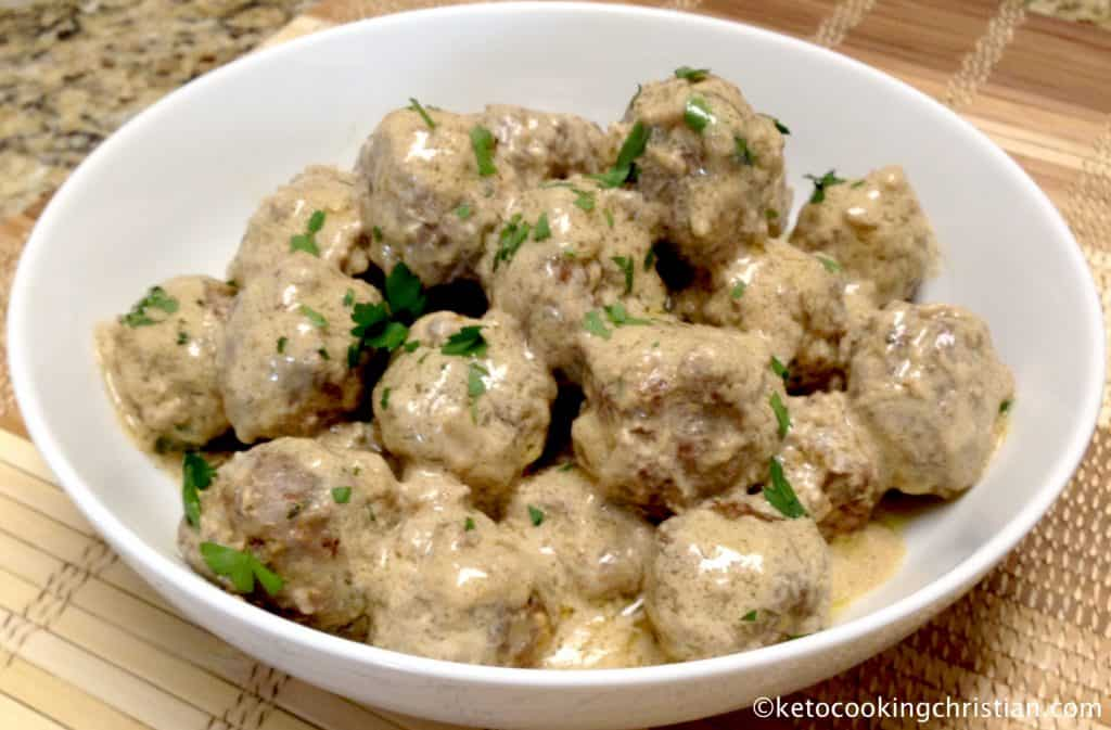 Swedish Meatballs – Keto and Low Carb