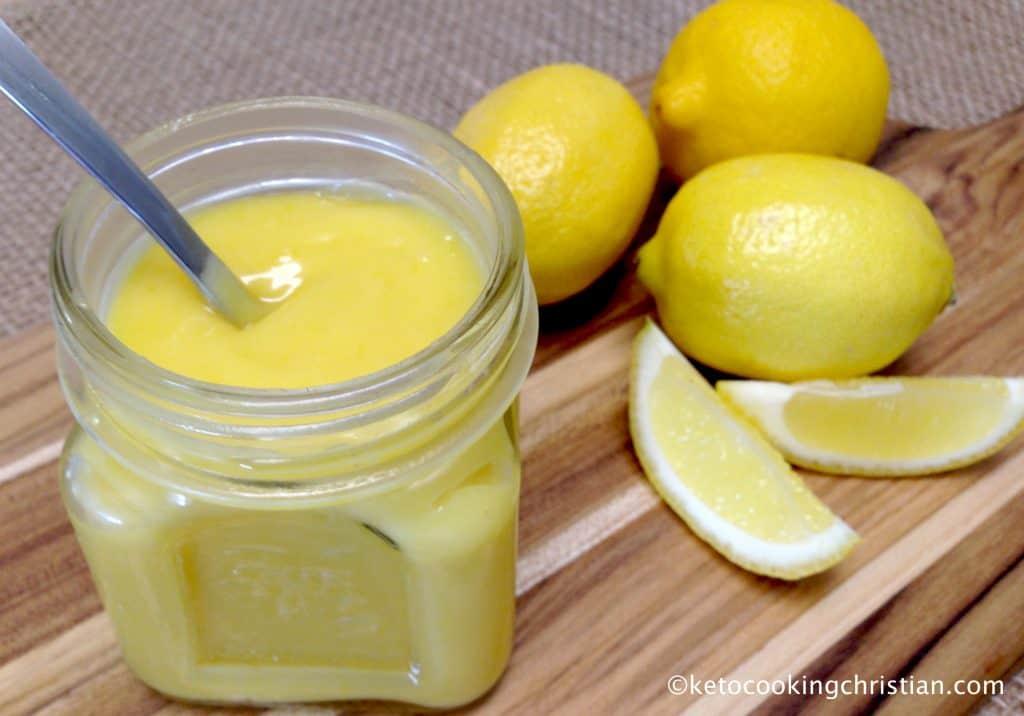 Lemon Curd - Keto, Low Carb & Sugar Free