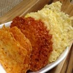 homemade cheese crisp crackers