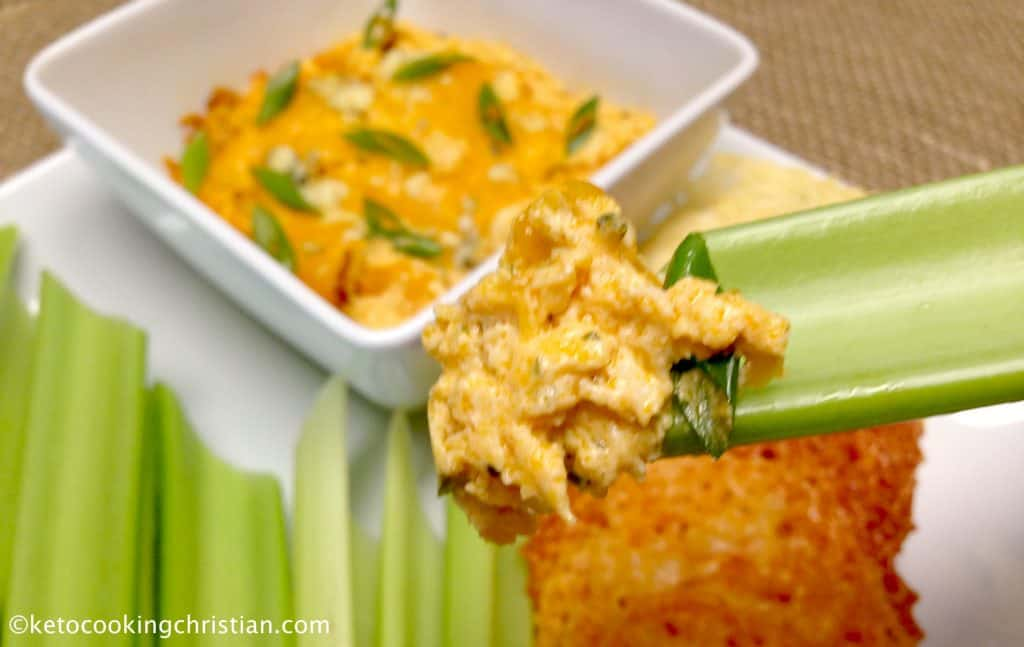 Buffalo Chicken Dip - Keto and Low Carb