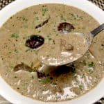 Cream of Wild Mushroom Soup - Keto and Low Carb
