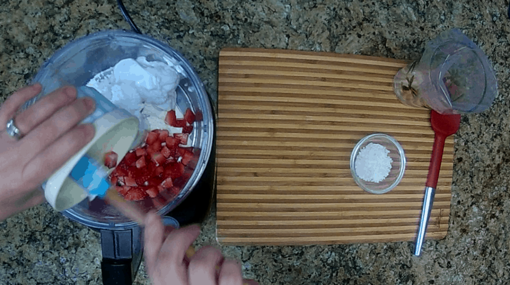 strawberry coconut cream mousse keto and low carb