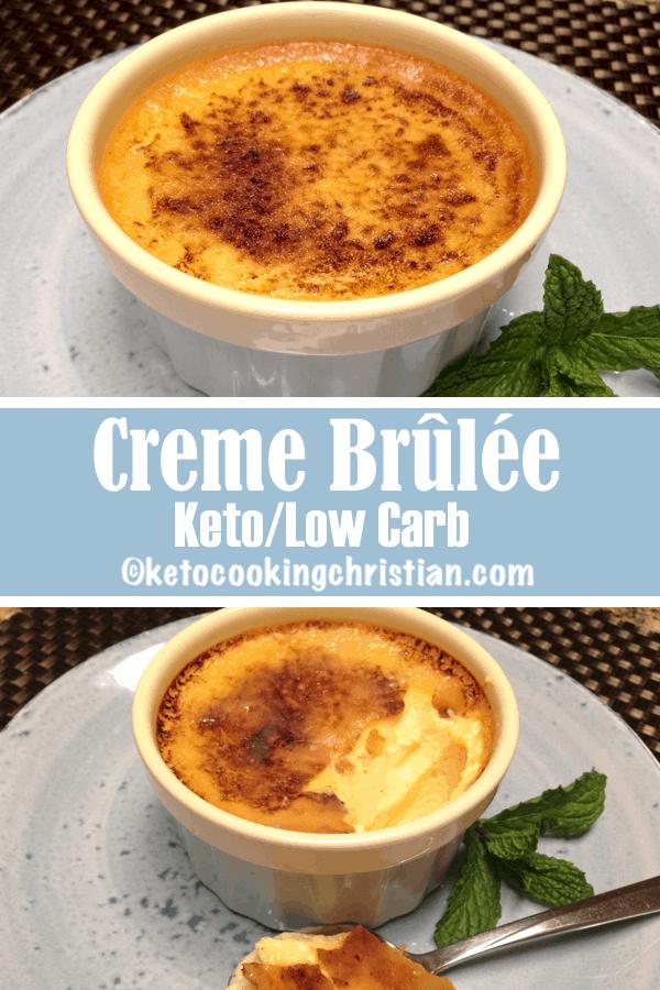 Creme Brûlée - Keto, Low Carb & Sugar Free
