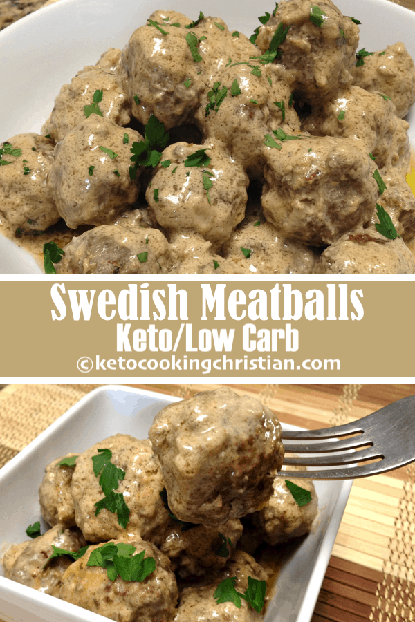 Swedish Meatballs - Keto and Low Carb