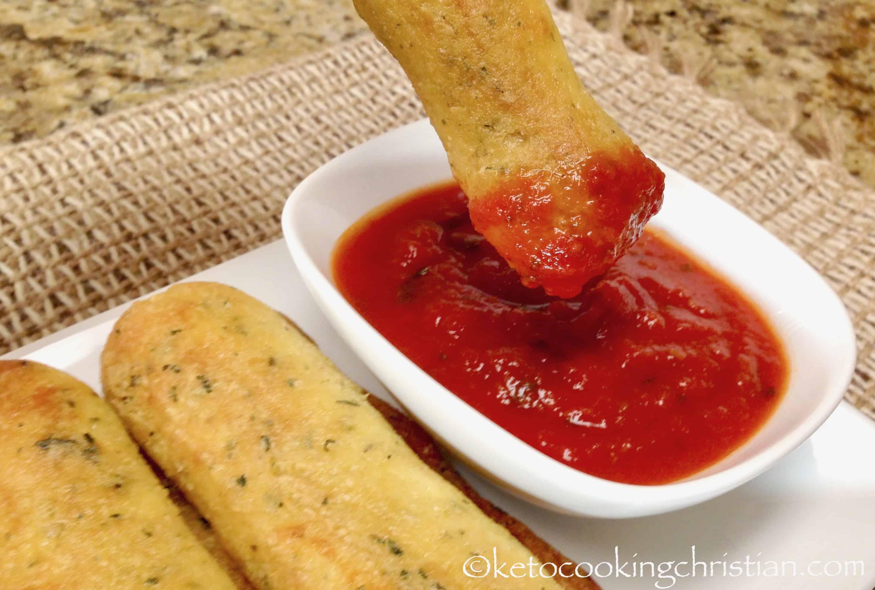 Italian Breadsticks - Keto, Low Carb & Gluten Free