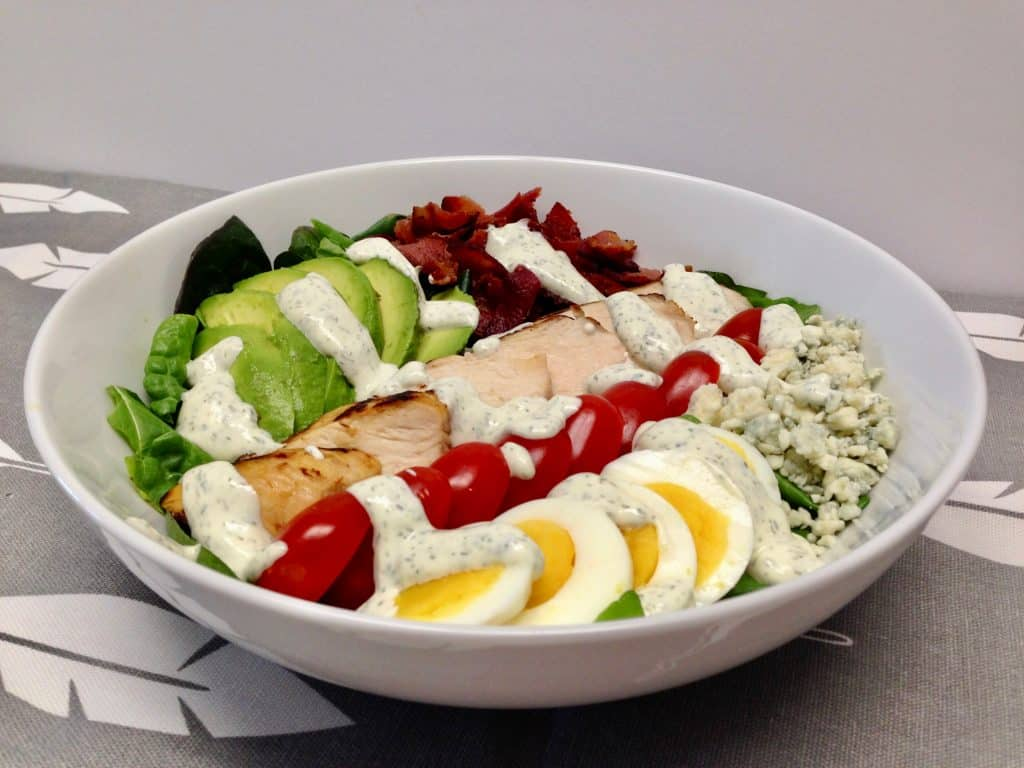 Classic Cobb Salad - Keto and Low Carb