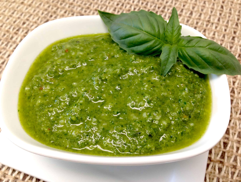 Homemade Pesto - Keto and Low Carb