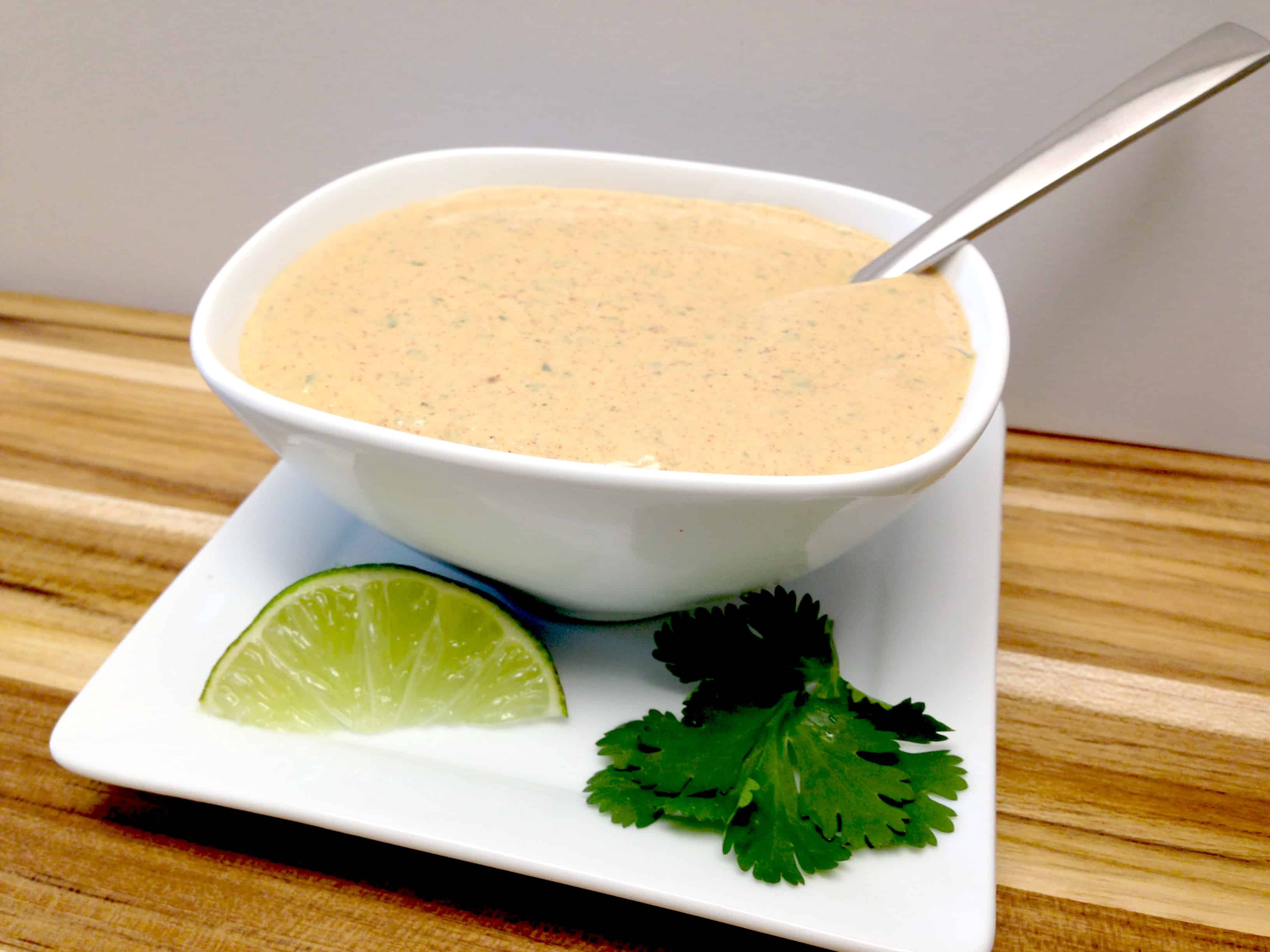 homemade chipotle ranch dressing and dip keto and low carb