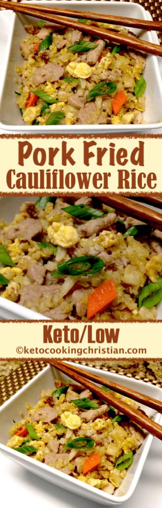 Pok Fried Cauliflower Rice - Keto and Low Carb
