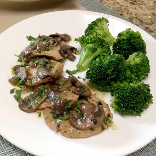Creamy Chicken Marsala - Keto and Low Carb
