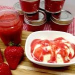 strawberry sauce keto and low carb