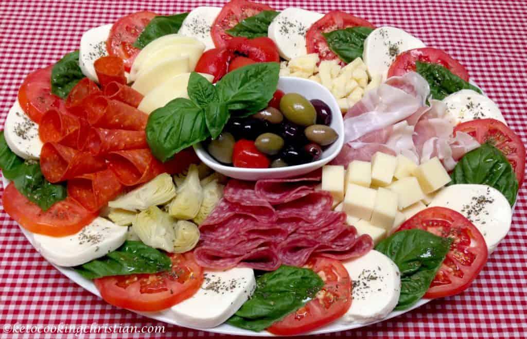Italian Antipasti Platter Keto And Low Carb Keto Cooking Christian