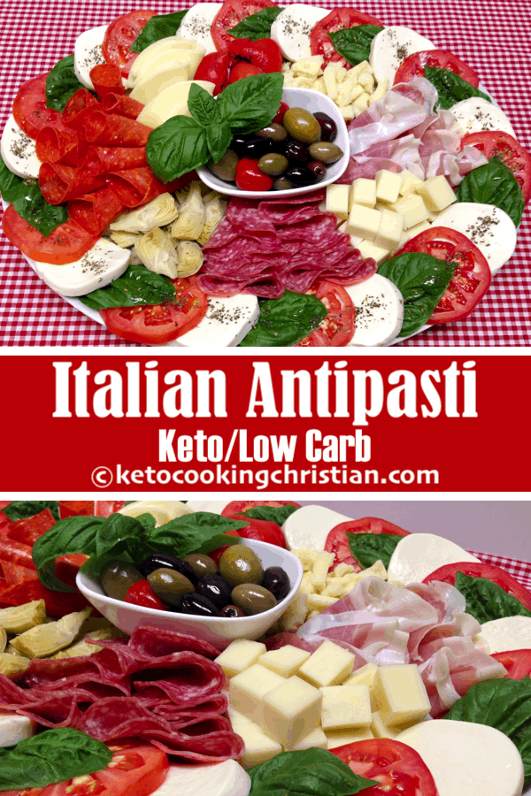 Italian Antipasti Platter - Keto and Low Carb