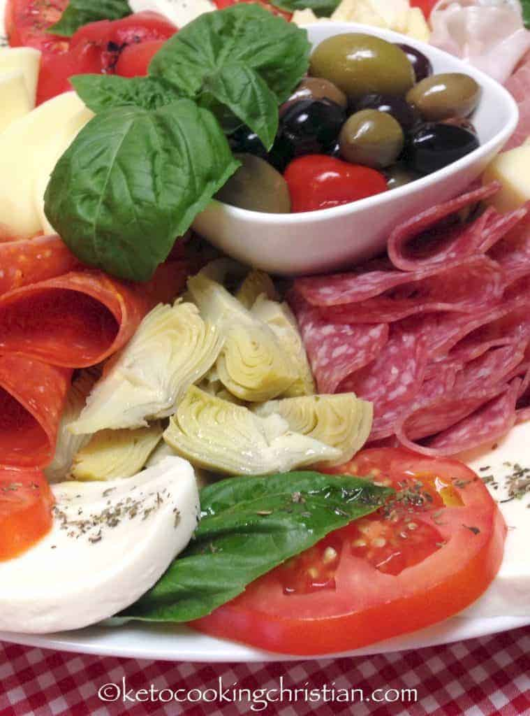Italian Antipasti Platter - Keto and Low Carb