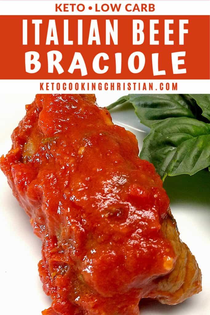 Italian Beef Braciole Pin