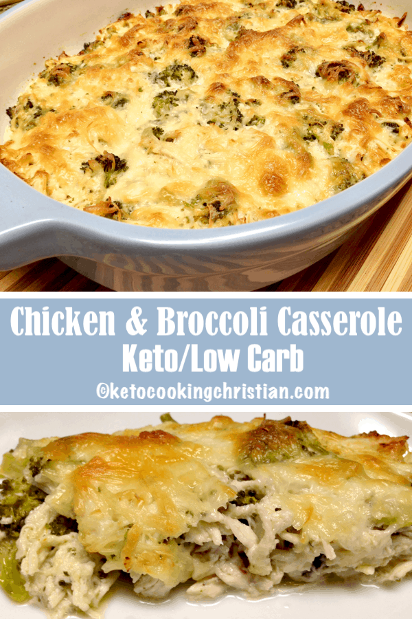 Chicken and Broccoli Casserole - Keto and Low Carb