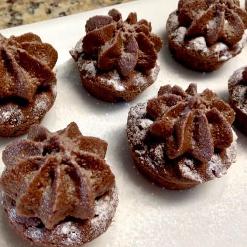 Chocolate Mocha Mini Cupcakes - Keto, Low Carb & Gluten Free
