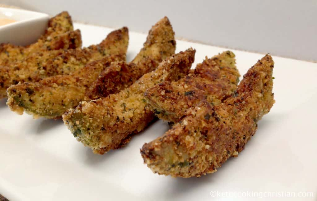 avocado fries keto low carb gluten free