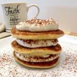 Tiramisu Pancakes-Keto, Low Carb & Gluten Free