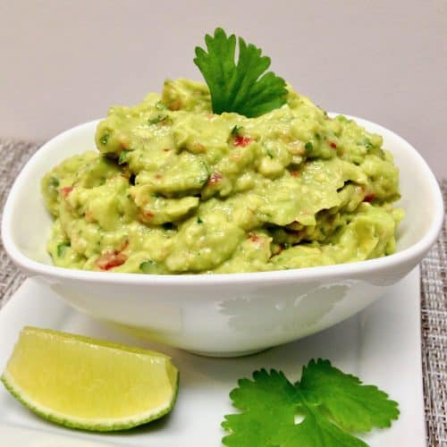 Easy Guacamole - Keto and Low Carb