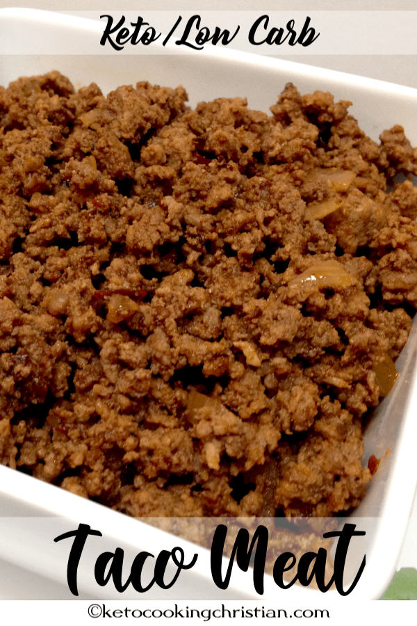 Quick & Easy Taco Meat - Keto and Low Carb