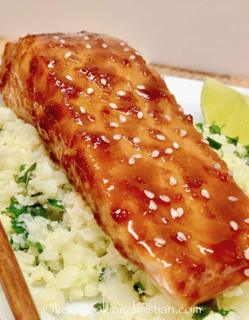 Asian Glazed Salmon - Keto and Low Carb