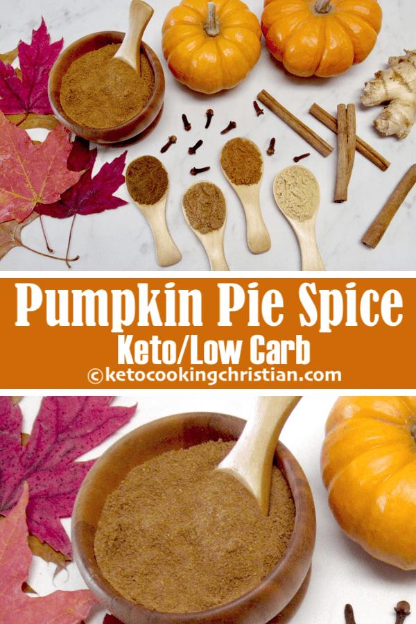 Homemade Pumpkin Pie Spice - Keto and Low Carb