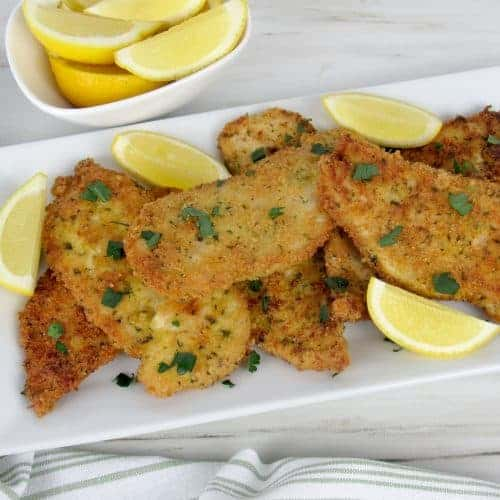 Chicken Milanese - Keto, Low Carb & Gluten Free