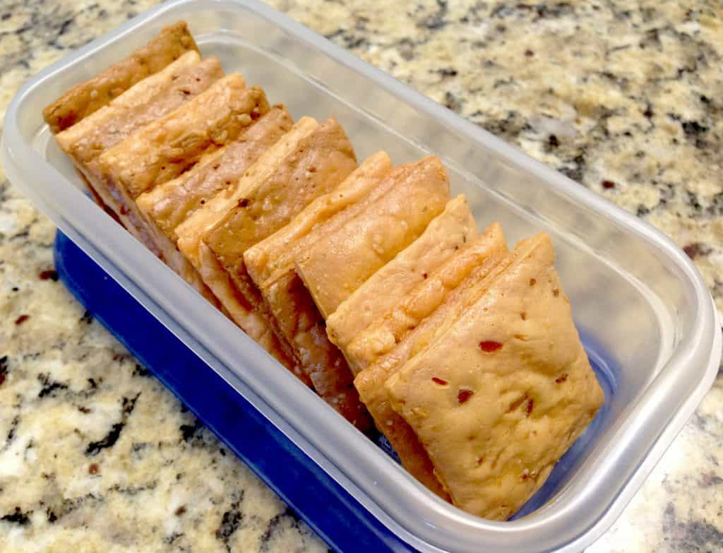 Homemade Cheese Crackers - Keto and Low Carb