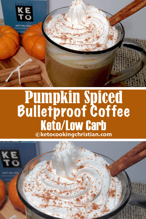 Pumpkin Spiced Bulletproof Coffee - Keto and Low Carb