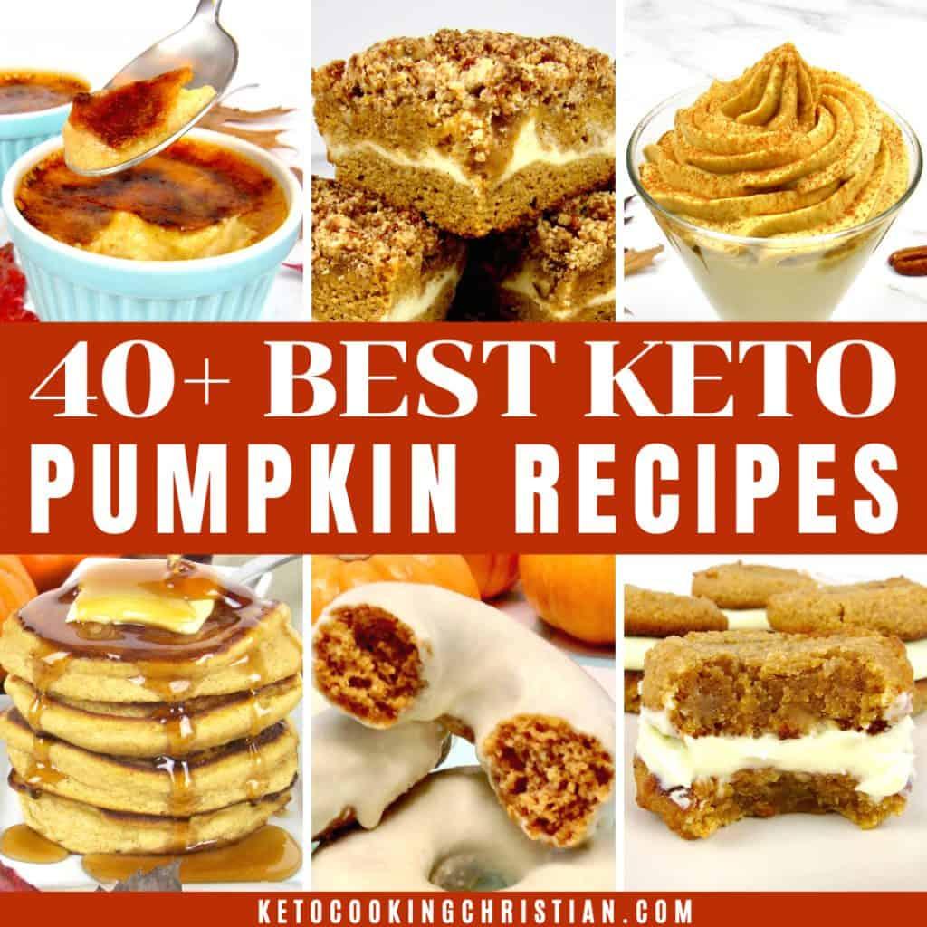 40+ Best Keto Pumpkin Recipes