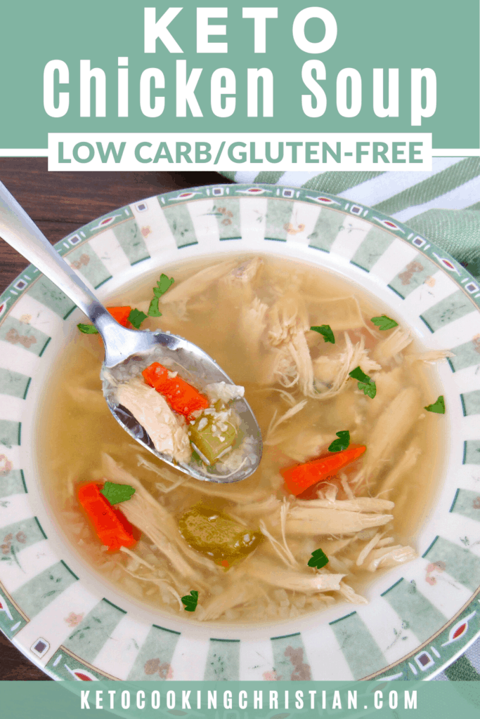 PIN Keto chicken soup