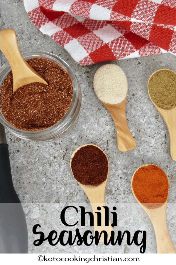 Homemade Chili Seasoning - Keto and Low Carb