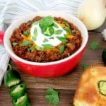 Instant Pot No-Bean Chili - Keto and Low Carb