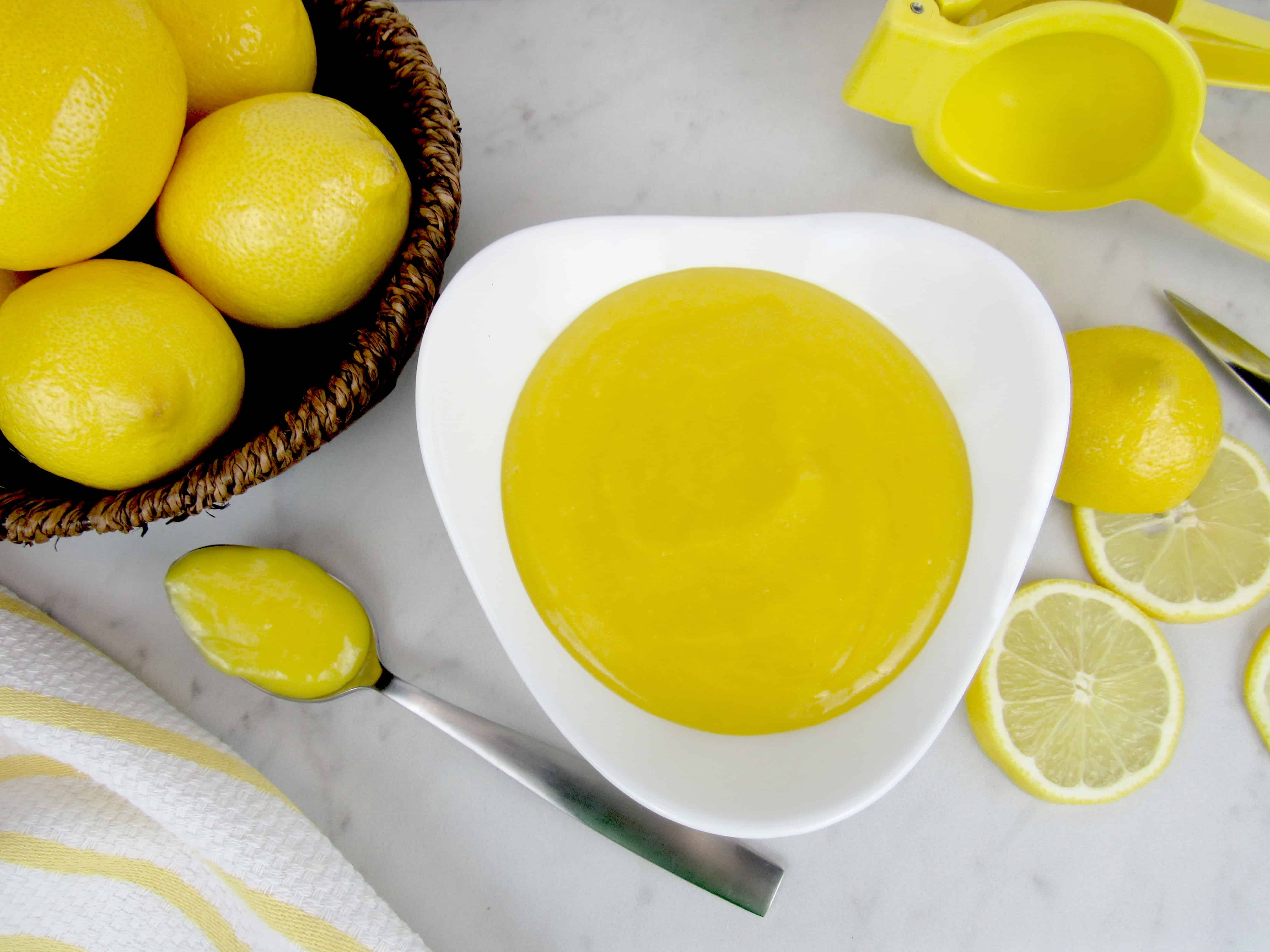 5 Minute Microwave Lemon Curd - Keto and Low Carb